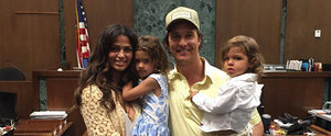 Matthew McConaughey Shares a Sweet Moment With His Family