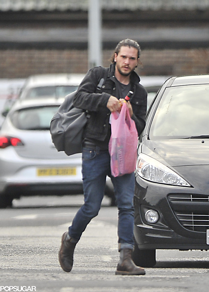 Kit Harington Shopping In Belfast August 2015 Pictures Popsugar Celebrity