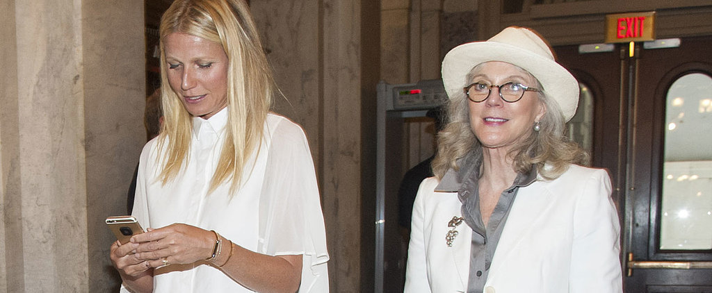 Gwyneth Paltrow Can't Stop Playing on Her Phone in Washington, and It's Hilarious