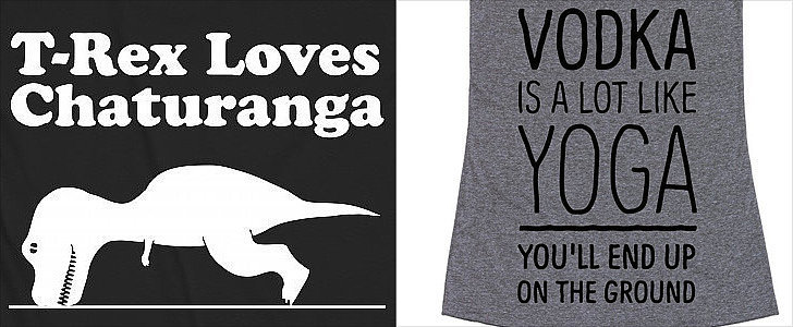 9 LOL-Worthy Tanks For Yoga-Lovers