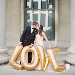 Wedding Photos With Balloons