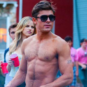 Zac Efron Shirtless Movie GIFs