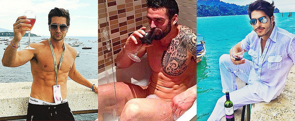 Thirsty? Men and Wine Is Your New Hot-Guy Instagram Obsession