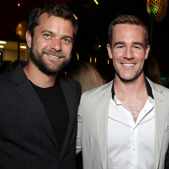 Joshua Jackson and James Van Der Beek Reunite 2015