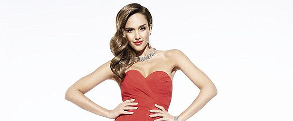 Jessica Alba Shows Off Her Legs For Braun's Newest Beauty Campaign