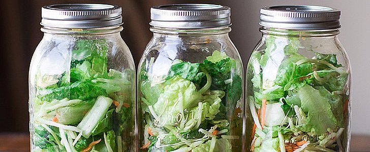 POPSUGAR Shout Out: Upgrade Lunch With Mason Jar Salads