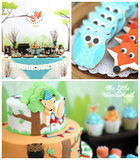 Celebrate Your Little Animal Lover's Birthday With a Colorful Woodland Party!