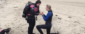 This Woman Learned to Scuba Dive So She Could Propose to Her Girlfriend Underwater