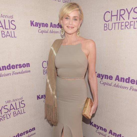 Sharon Stone Poses Nude at 57