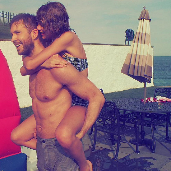 Cute Taylor Swift and Calvin Harris Pictures