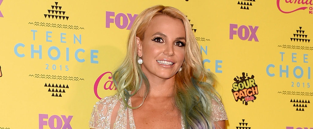 Britney Spears Was Like a Very Sexy Disney Princess on the Teen Choice Awards Red Carpet