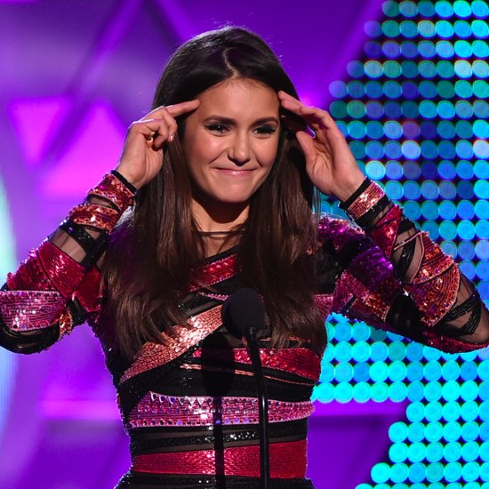 Nina Dobrev Teen Choice Awards Speech 2015