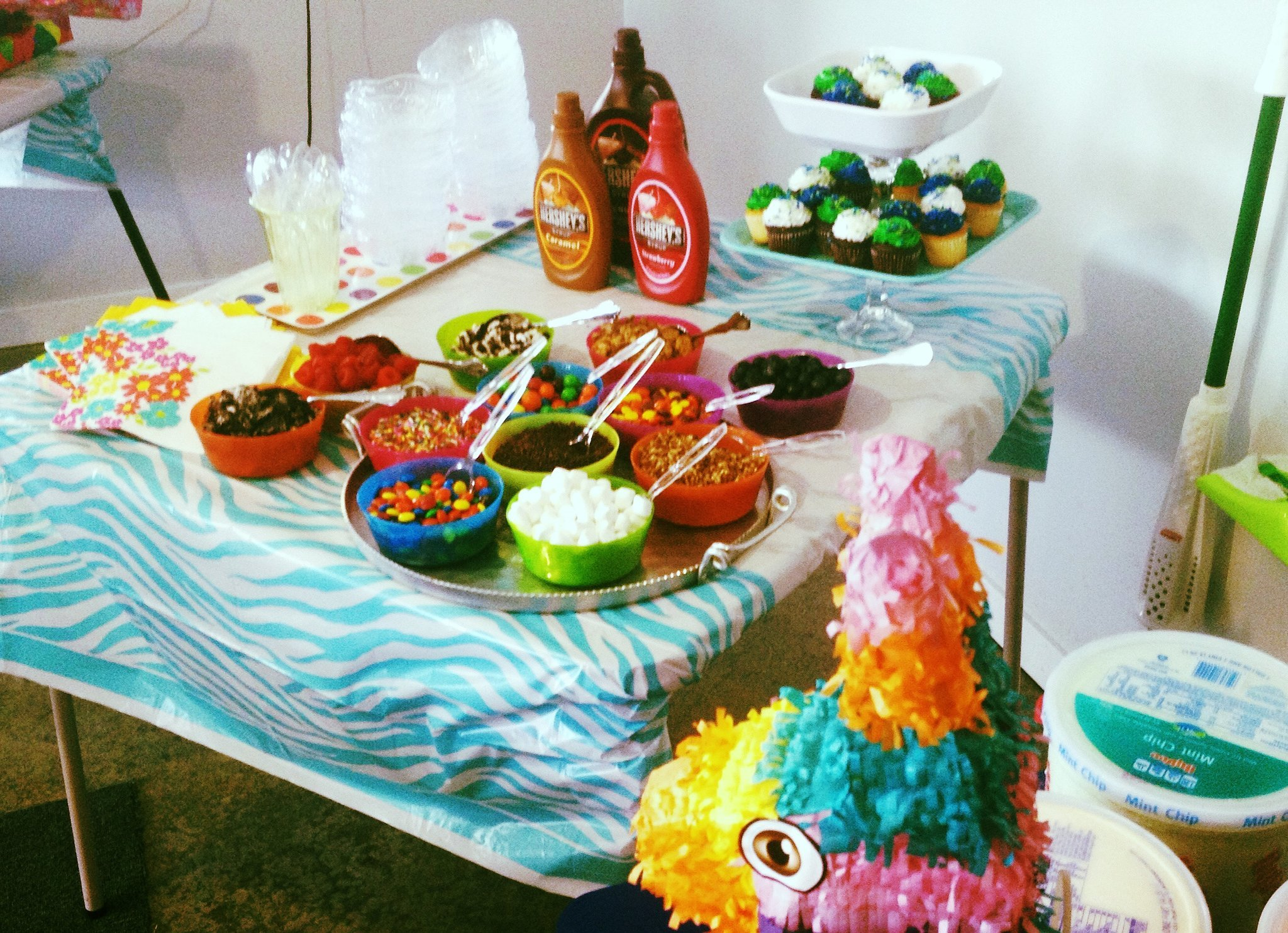 """Get """"Cool"""" With a Make-Your-Own Sundae Bar"""