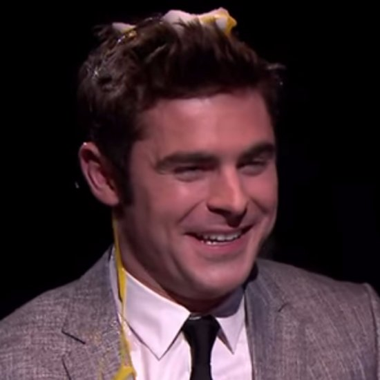 Zac Efron Plays Egg Russian Roulette on Tonight Show | Video