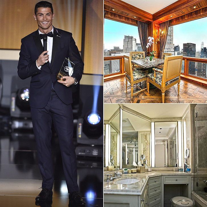 Cristiano Ronaldo Splashed Out 18 5 Million On Apartment In New York S Trump Tower Pictures