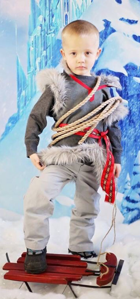 This handmade Kristoff costume ($60+) for toddlers includes basically every detail of the outfit down to the hat and gloves.
