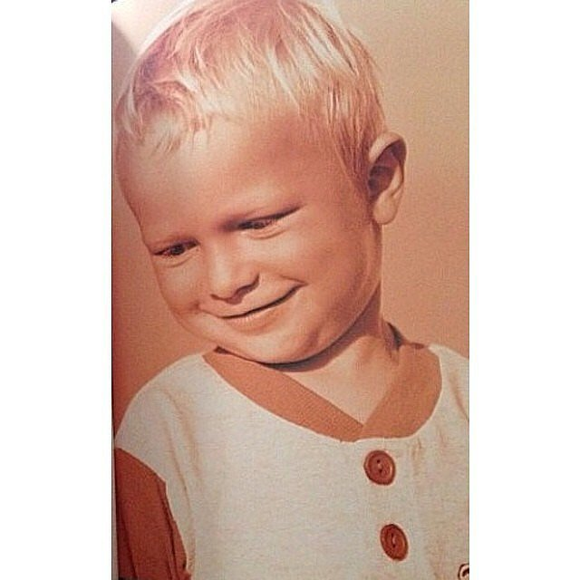 When He Shared This Adorable #TBT