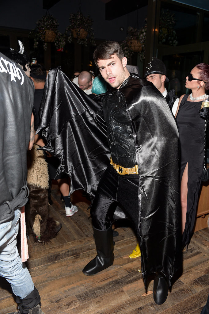 In 2014, Jonathan Bennett stepped out as Batman at Matthew Morrison's Halloween party in LA.