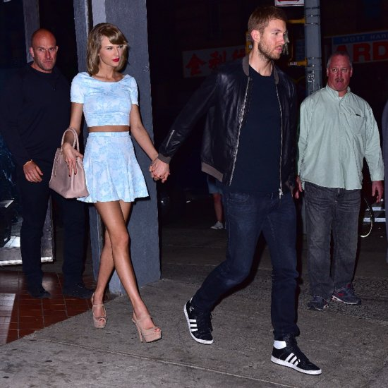 Taylor Swift and Calvin Harris Couple Style