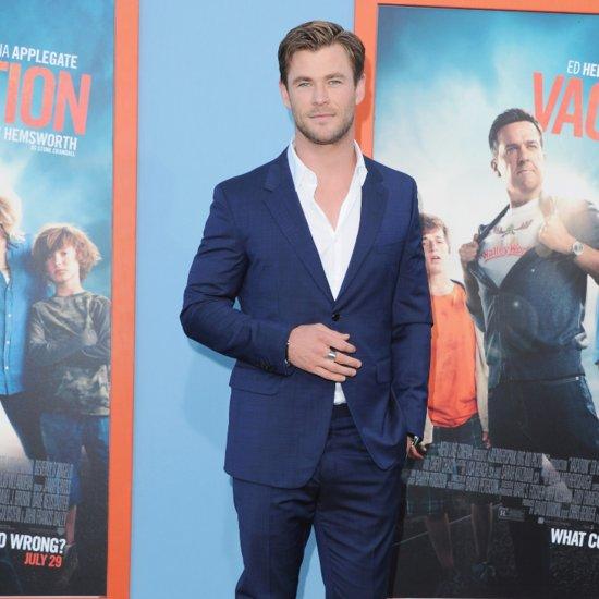 Chris Hemsworth Is 1 Sexy Nerd in His Ghostbusters Costume