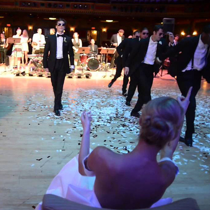 Groom Surprises His Bride On Their Wedding Day Naij Com: Groom Dancer Surprises Ballerina Bride With Dance At