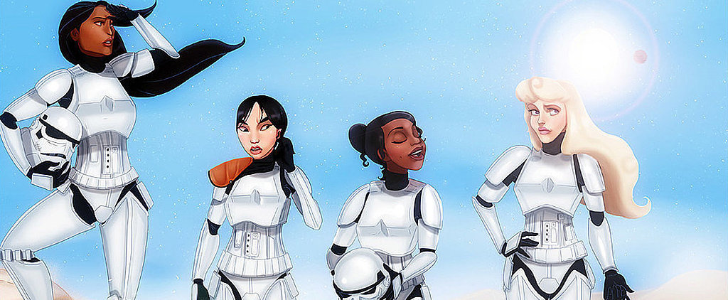 POPSUGAR Shout Out: Artist Created Perfect Disney Character/Star Wars Mashup