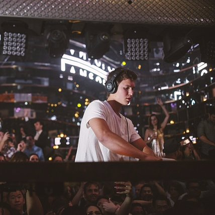 Ansel Elgort DJ Pictures August 2015