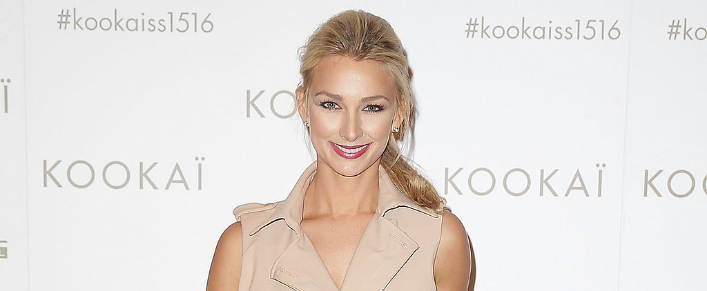 Anna Heinrich Nailed City-Chic in a Trench Dress on the Red Carpet