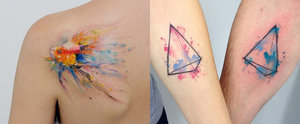 20 Watercolour Tattoo Ideas That You'll Want Inked ASAP