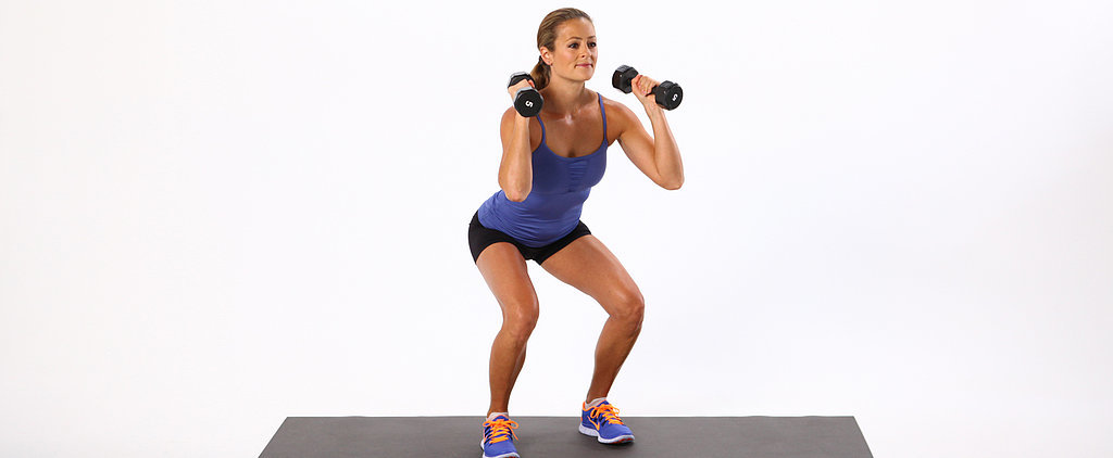 Sculpt Your Legs With the Squat Walk