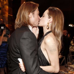 Look Back at Brad and Angelina's Sexiest PDA Moments
