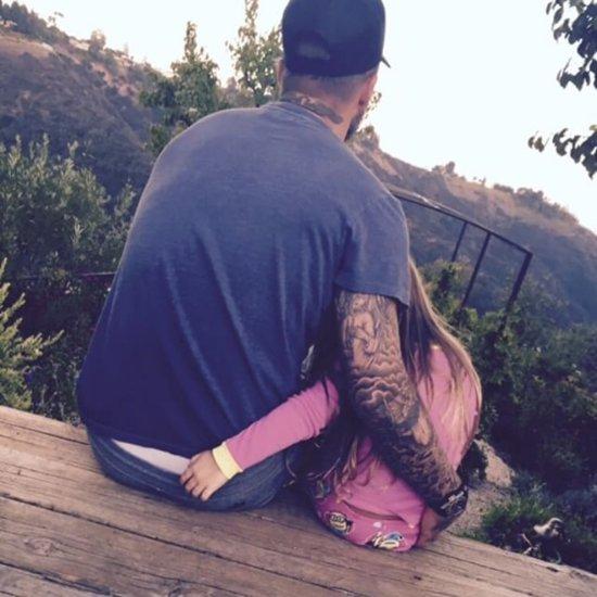 David and Harper Beckham's Sweet Photo