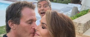 George Clooney Epically Photobombs a Sweet Snap of His Pals