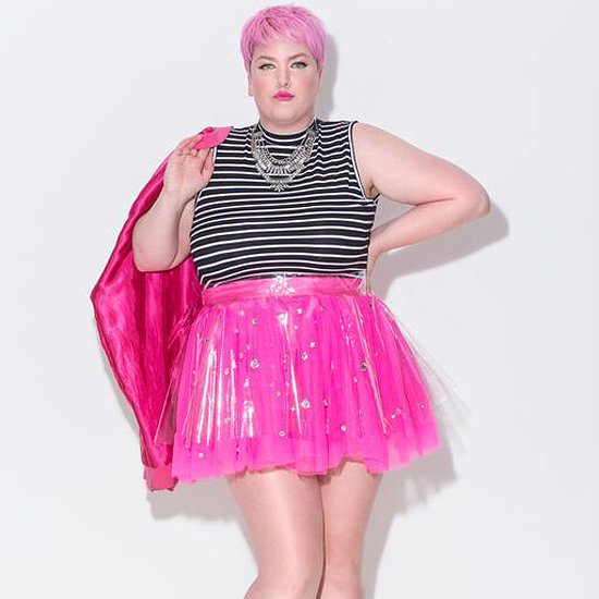 Plus-Size Fashion Bloggers Wearing Tulle Skirts