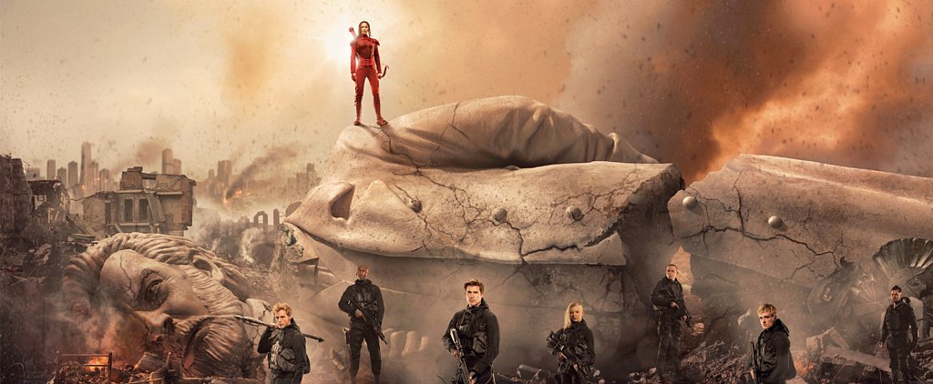 This New Mockingjay Part 2 Poster Is the Ultimate Show of Katniss's Revenge
