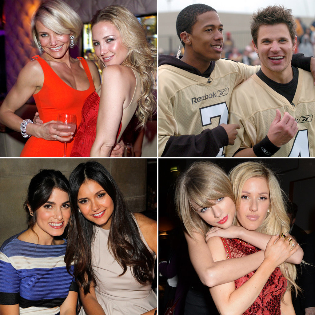 Famous Friends Who Also Share Exes