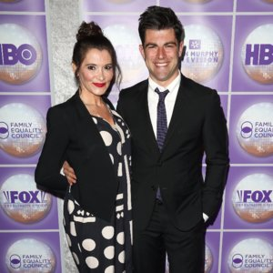 Max Greenfield Welcomes Son