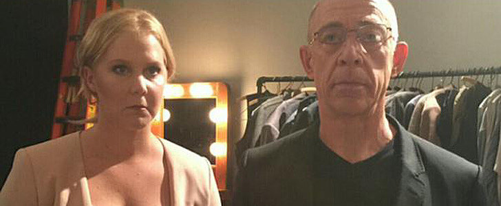 """Amy Schumer Re-Created """"American Gothic"""" With J.K. Simmons, and It's Glorious"""