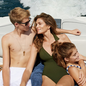 Cindy Crawford and Kaia Gerber in Vogue Magazine