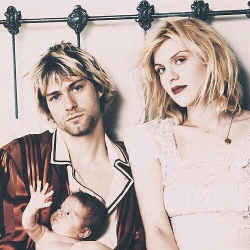 Courtney Love Writes Message to Kurt Cobain on Instagram