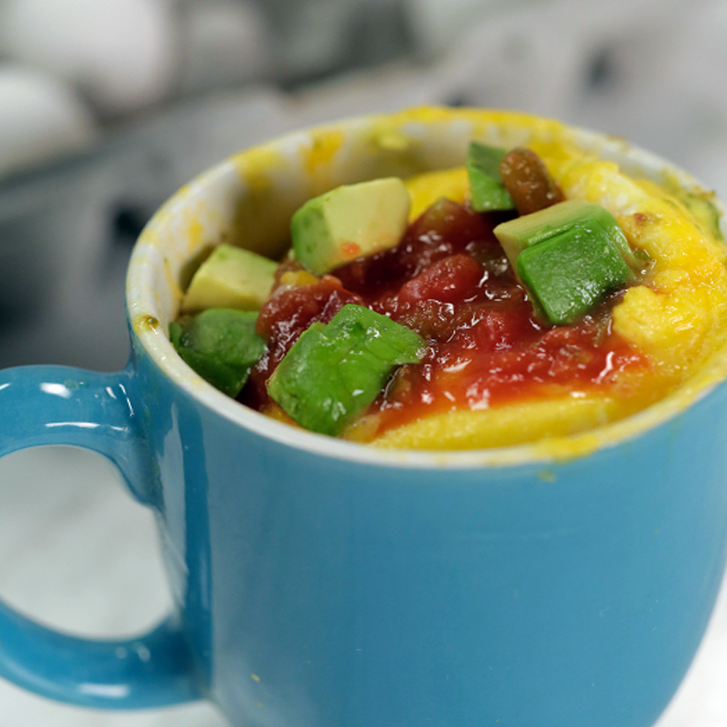 Day 11 (Weekday): Microwave Avocado Omelet | Start the 30-Day ...