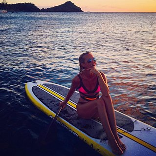 Photos de Vacances de Laeticia Hallyday