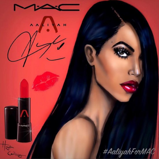 MAC Aaliyah Makeup Collection