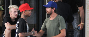 Scott Disick Runs Into Kylie Jenner's Boyfriend, Tyga, During Shopping Trip