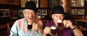 15 Pics That Prove Patrick Stewart and Ian McKellen Are True Soul Mates