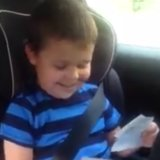 This 5-Year-Old Just Can't Even Handle the Fact He'll Be a Big Brother