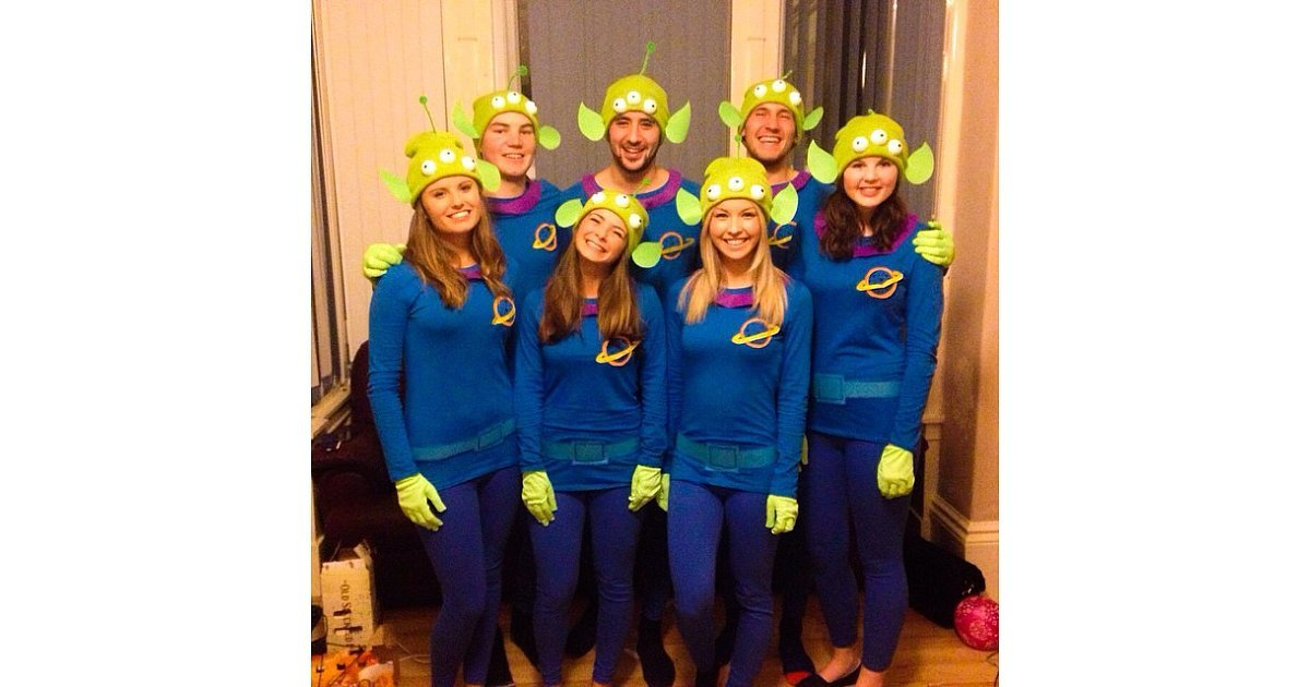Aliens From Toy Story 59 Creative Homemade Group Costume