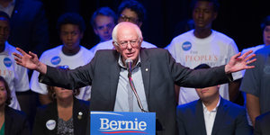 Bernie Sanders Is Not a 'Socialist.' That Title Belongs To George W. Bush