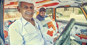 Take A Ride In India's Vibrant, Joyful Art Taxis