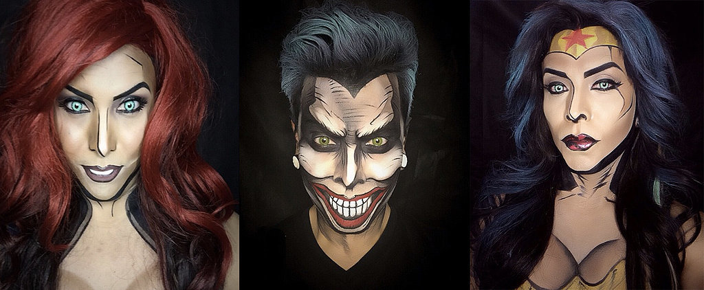 POPSUGAR Shout Out: These Comic-Book Inspired Makeovers Are Jaw-Dropping
